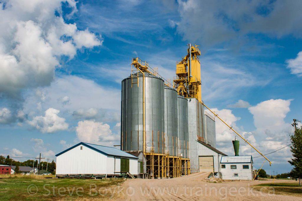 Alexander, Manitoba grain elevator