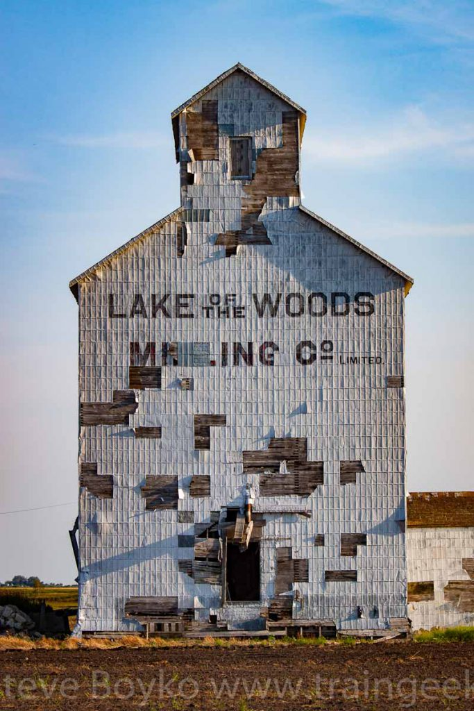 Ex Lake of the Woods grain elevator