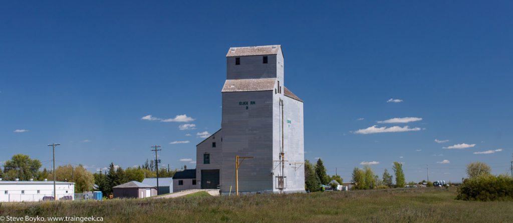 The Elkhorn grain elevator
