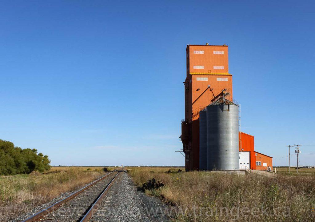 Carey grain elevator