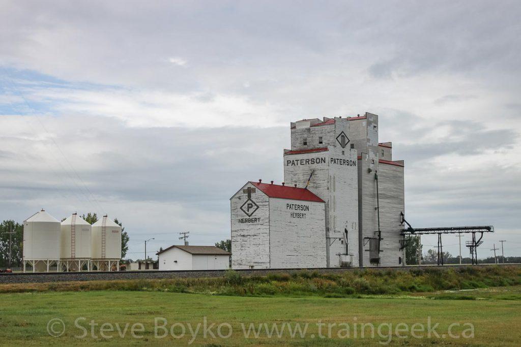 Herbert, SK grain elevator, August 2010
