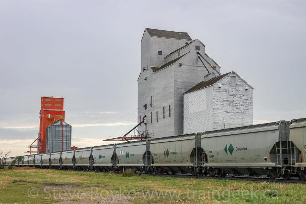 Morse grain elevators, August 2010