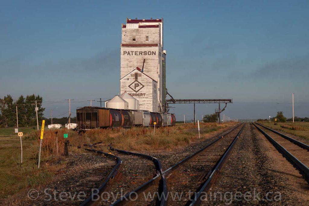 Herbert grain elevator
