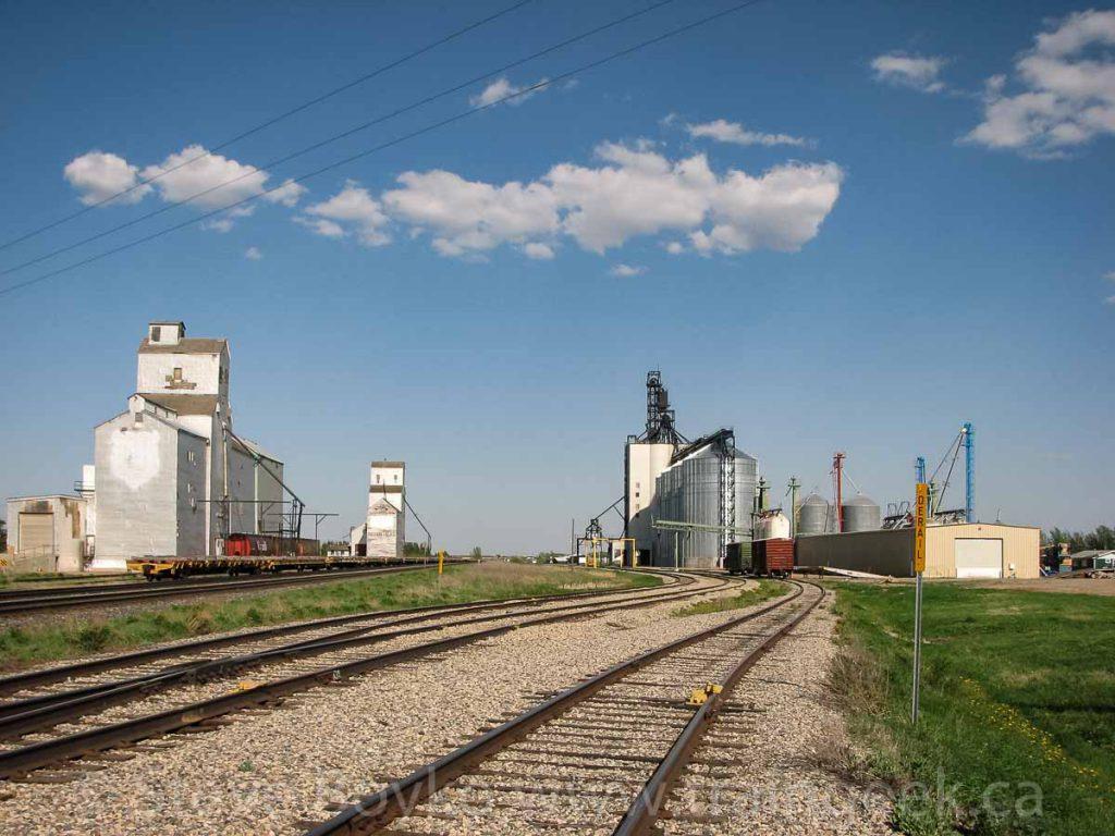 Indian Head grain elevators, 2010