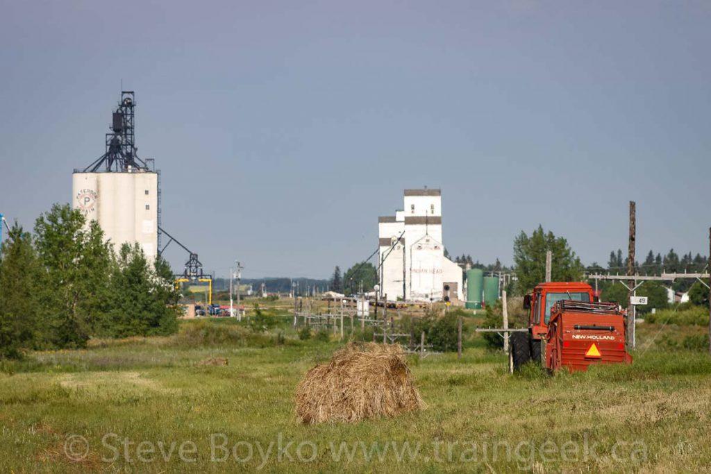 Indian Head, SK grain elevators, August 2010