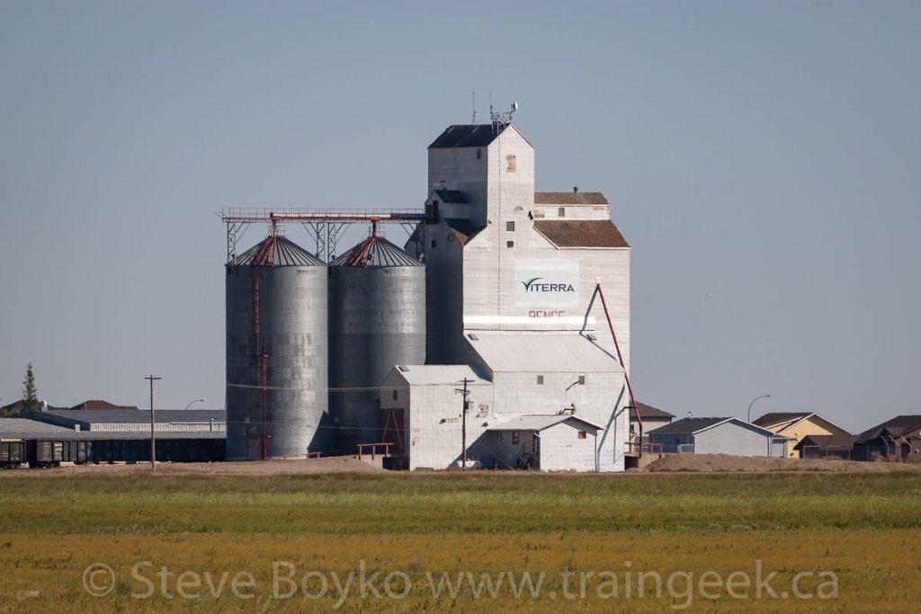 The Pense grain elevator, September 2012