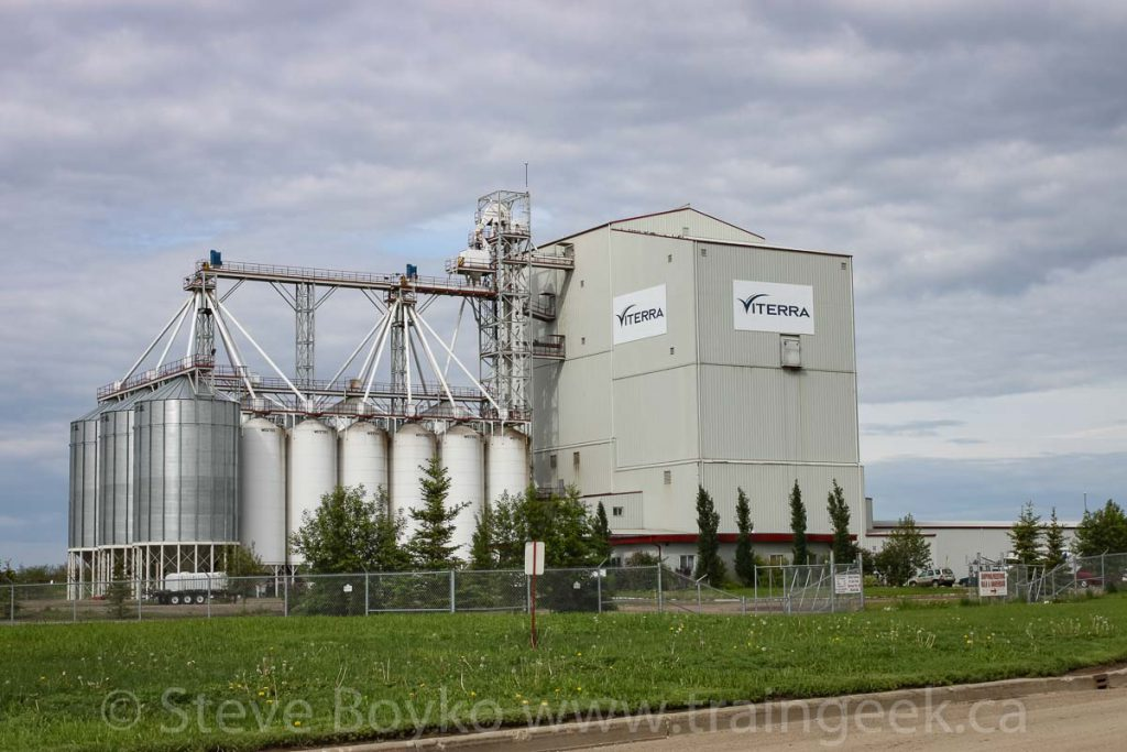 Viterra facility in Redwater, AB