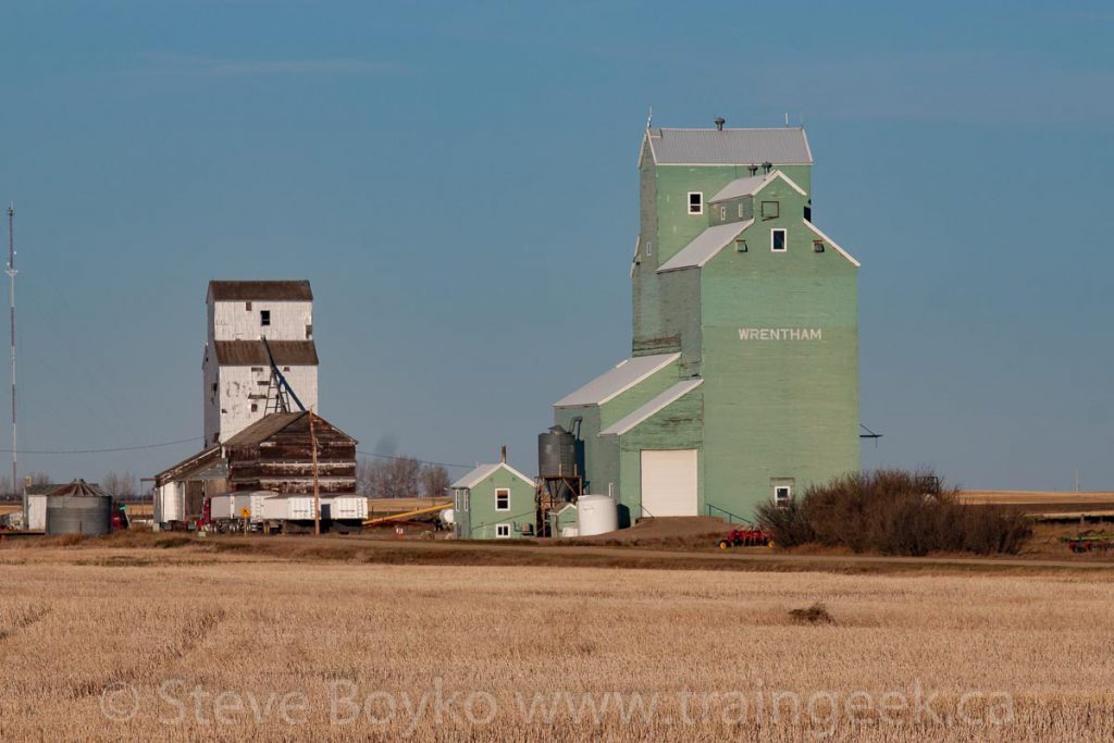 Wrentham grain elevators