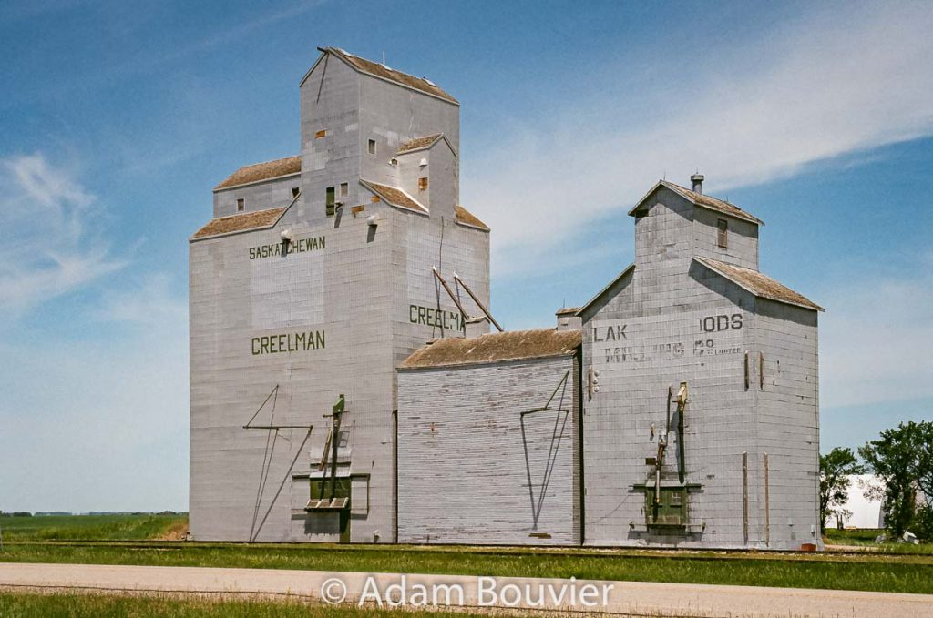 The Creelman, SK grain elevator, June 2017. Contributed by Adam Bouvier.