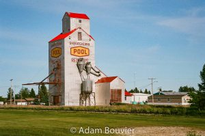 The Redvers, SK grain elevator, June 2017. Contributed by Adam Bouvier.