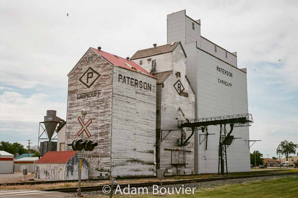 Carnduff, SK grain elevator, June 2017. Contributed by Adam Bouvier.