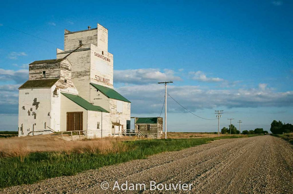 Stalwart, SK grain elevator, June 2017. Contributed by Adam Bouvier.
