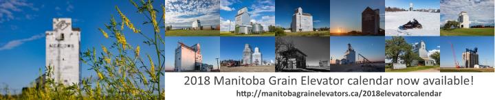 2018 Manitoba Grain Elevator Calendar