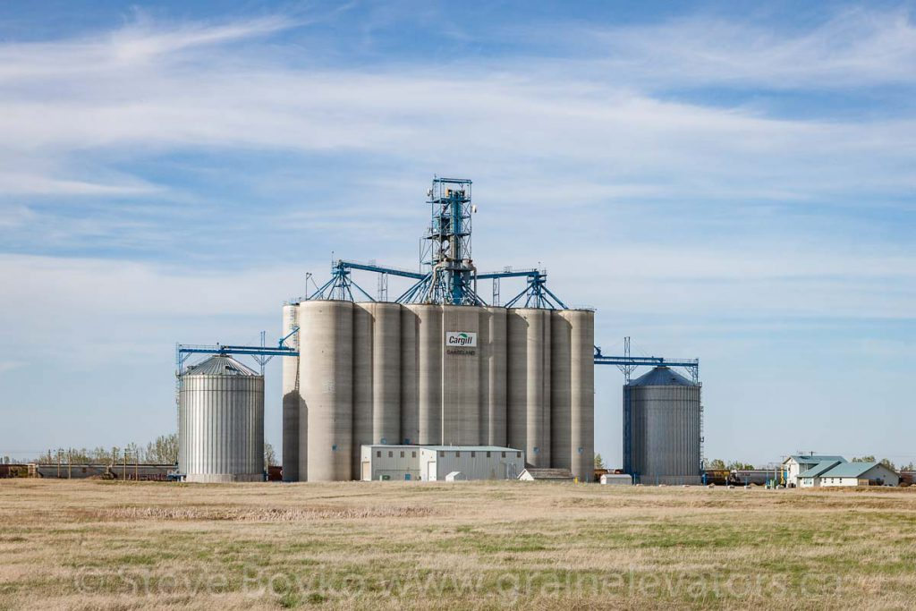 Cargill grain elevator in Carseland, AB. May 2017.