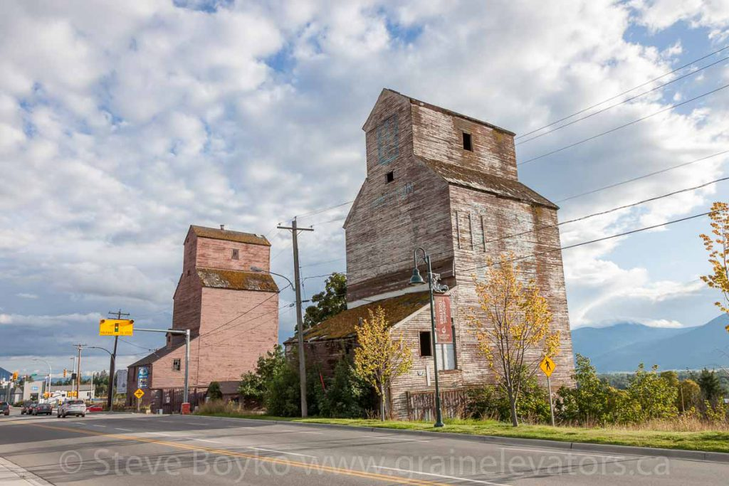 Creston, British Columbia grain elevators, September 2017