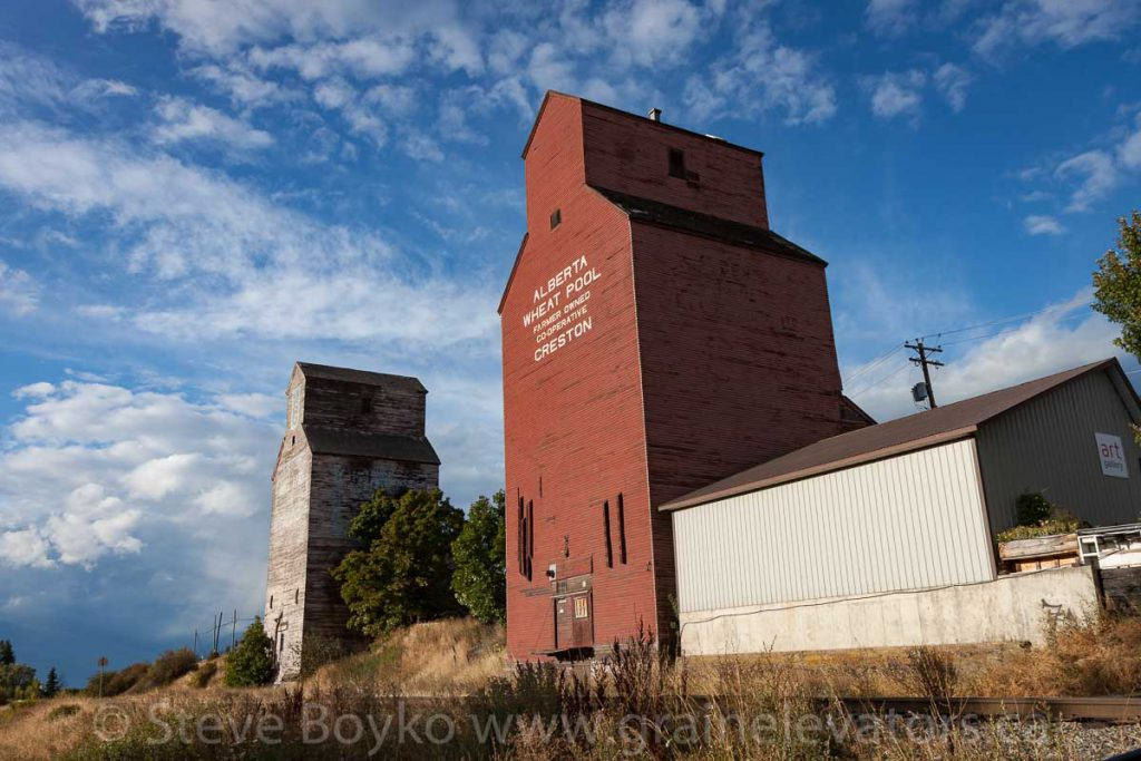 Creston, BC grain elevators, September 2017