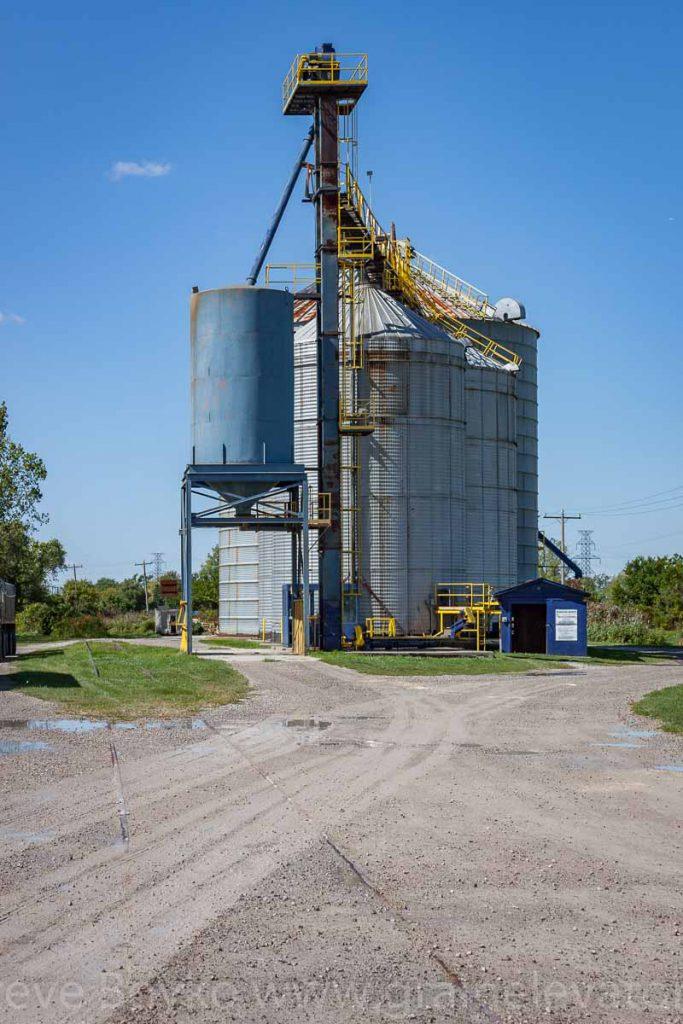 Maidstone, ON grain elevator. September 2012.