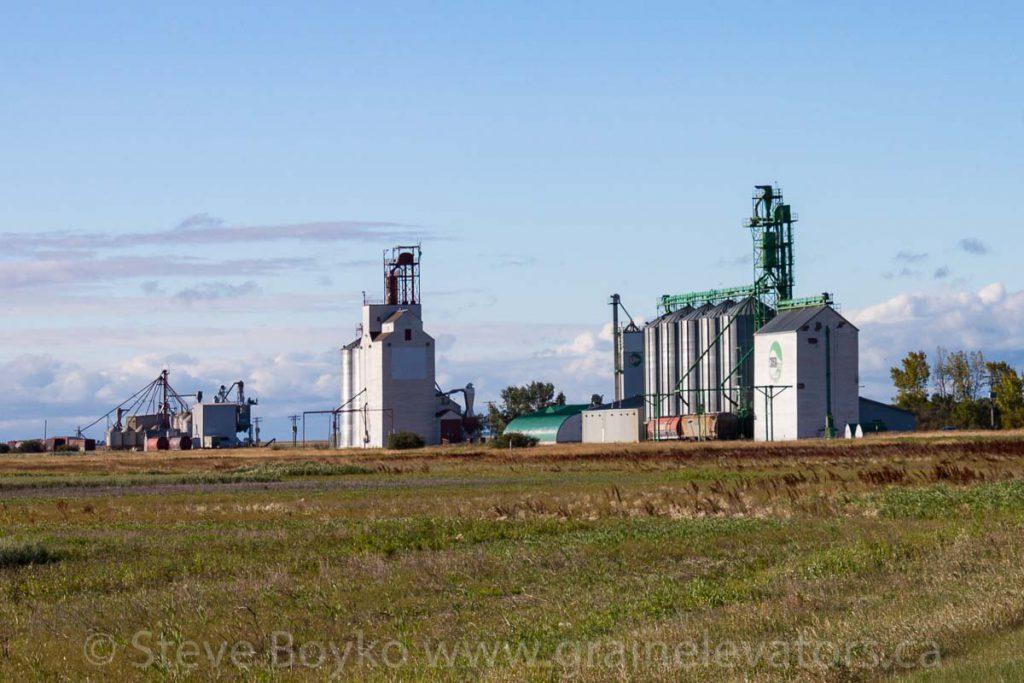Rowatt grain elevators, August 2011