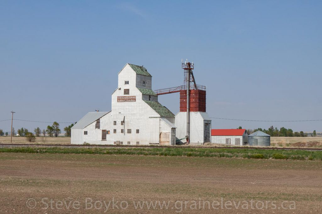Feenstra Seeds elevator in Barons, AB. May 2016.
