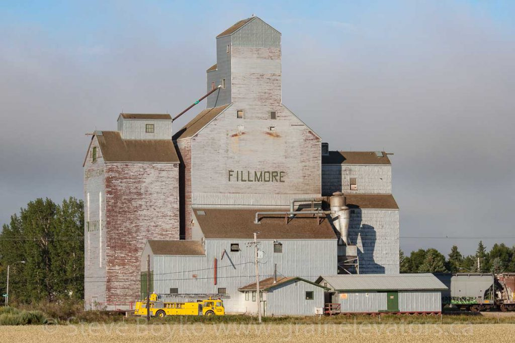 The Fillmore grain elevator, August 2015