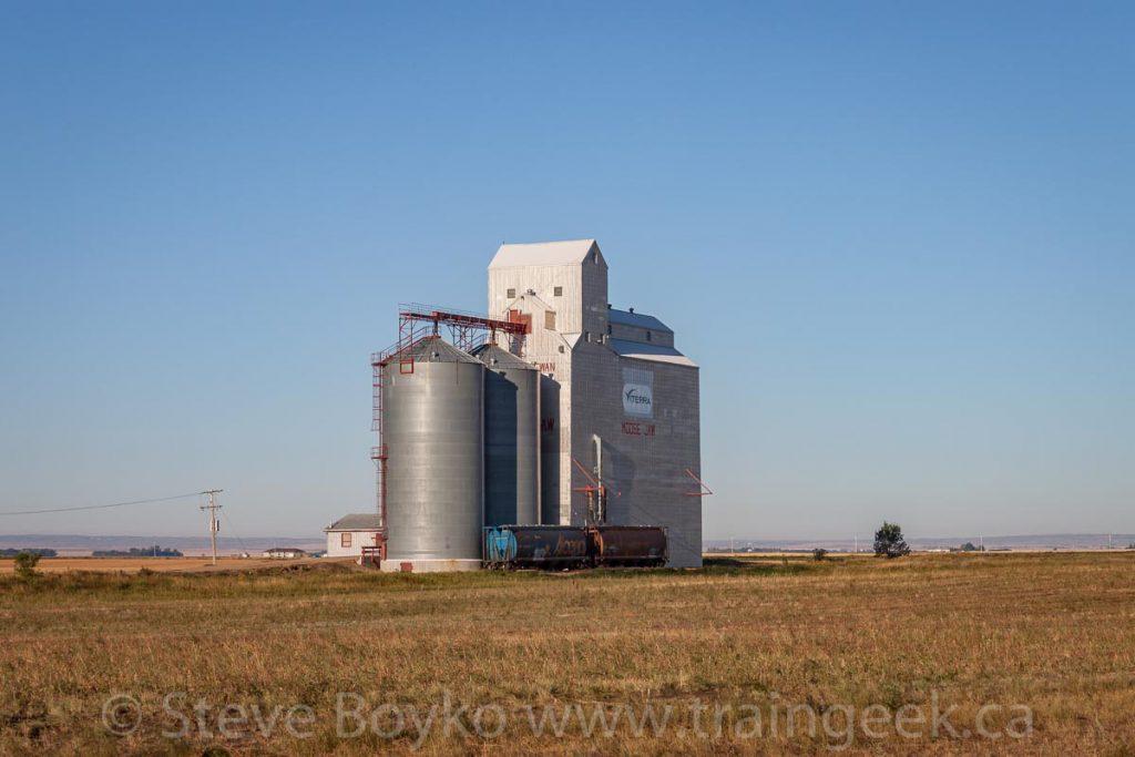 Viterra elevator in Moose Jaw, SK, September 2012