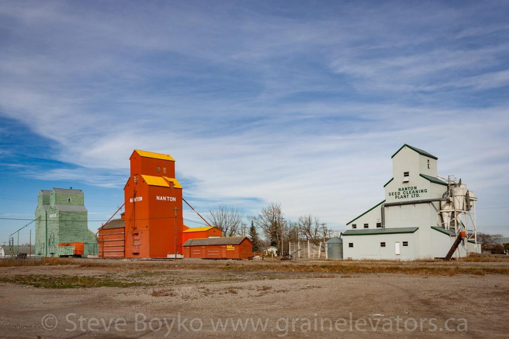 Nanton grain elevators, October 2014