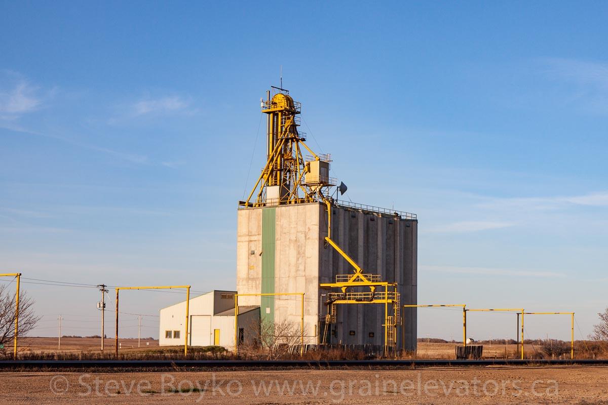 The Quadra, MB grain elevator. April 2016.