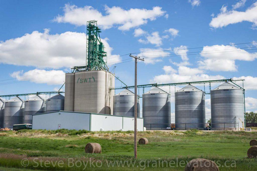SWT grain elevator near Gull Lake, Saskatchewan. July 2013.