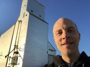 Steve Boyko at Sandy Lake, MB