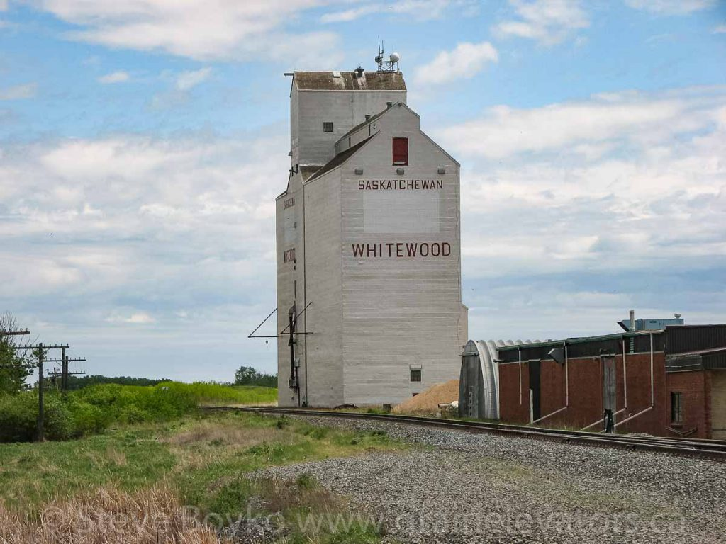 The Whitewood, SK grain elevator, May 2010.