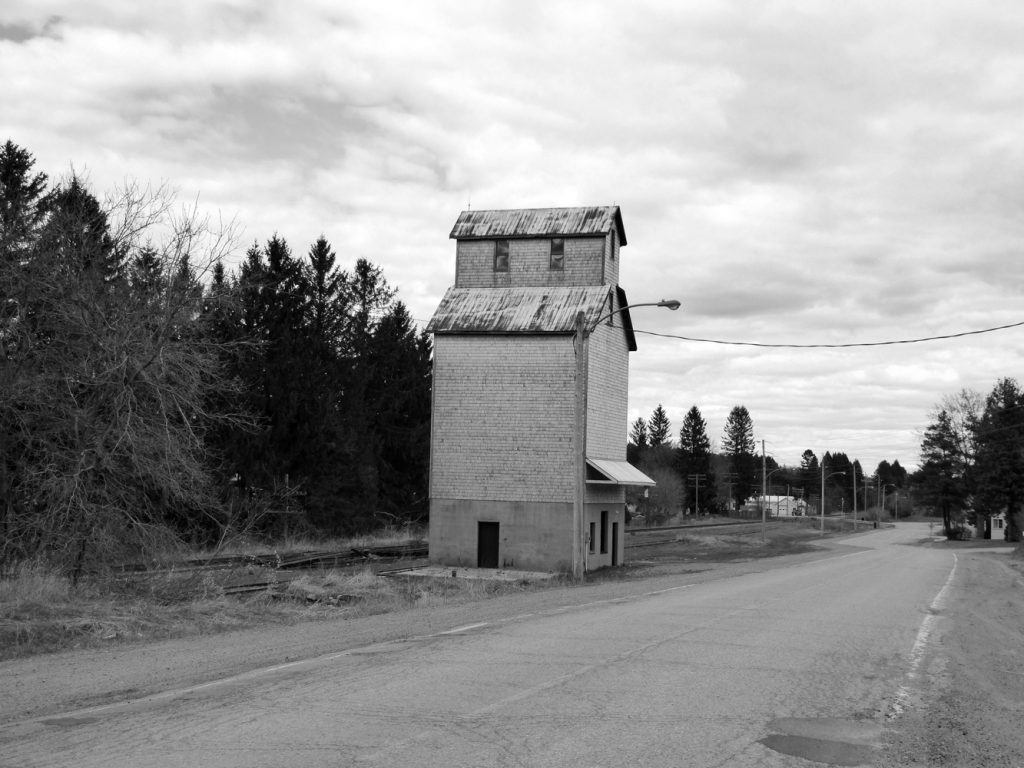 Pontypool, Ontario grain elevator. Contributed by Jan Normandale.