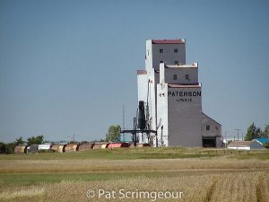 Limerick, SK grain elevator, Sept. 2002. Contributed by Pat Scrimgeour.