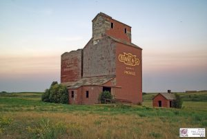 Brooking, AB grain elevator, July 2015. Contributed by Jason Paul Sailer.