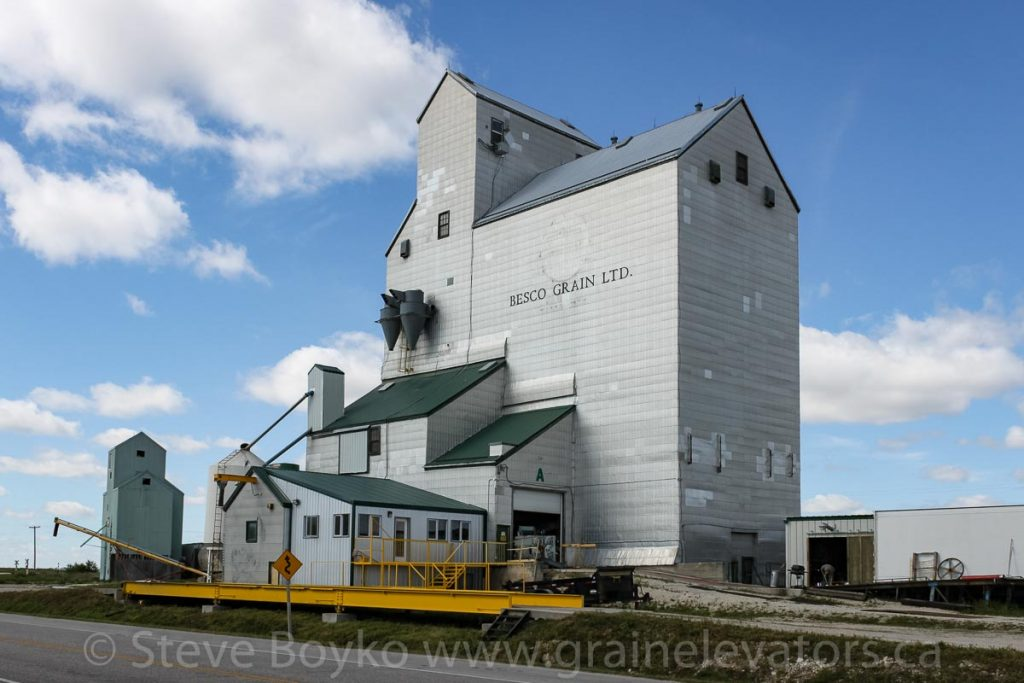 The Brunkild, MB grain elevator, Sept 2010. Contributed by Steve Boyko.