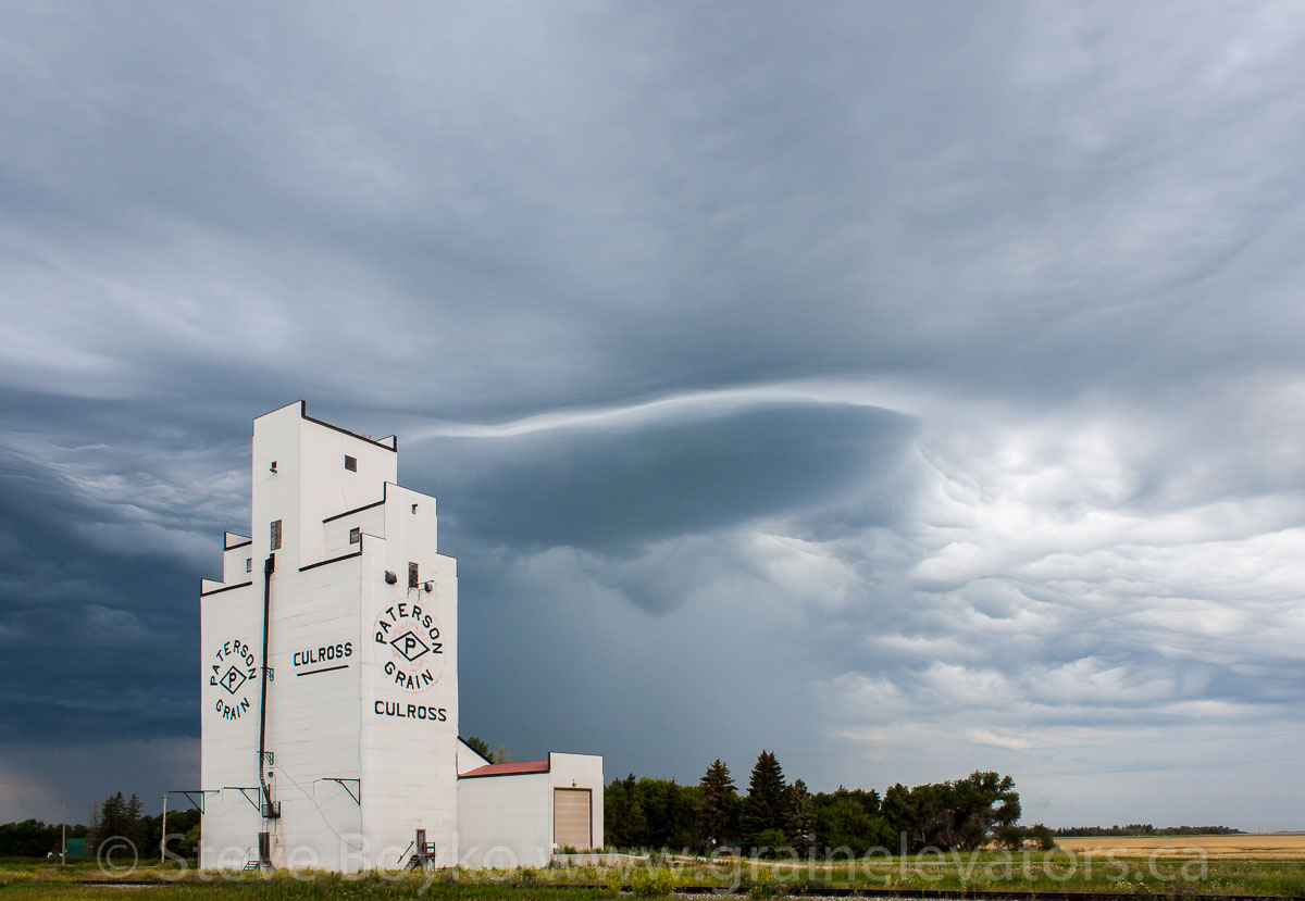 Culross grain elevator, Aug 2014. Contributed by Steve Boyko.