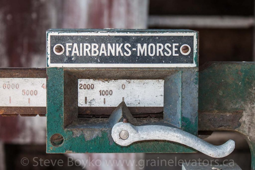 Fairbanks-Morse truck scale.