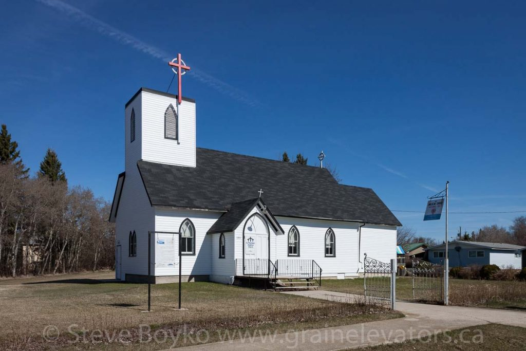 St. Matthews Anglican Church in Binscarth, MB, Apr 2016. Contributed by Steve Boyko.