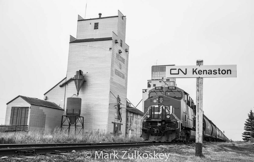 Welcome to Kenaston, SK. Contributed by Mark Zulkoskey.