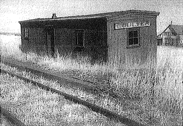 Coulter, MB train station. Date unknown.