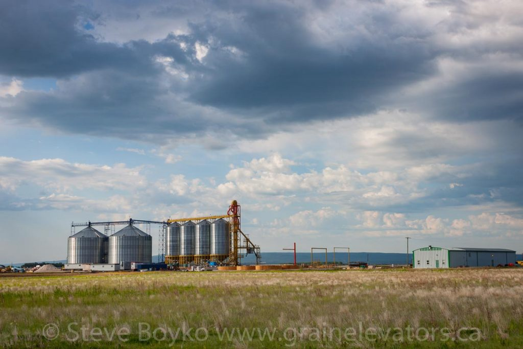 Site of new Richardson grain elevator, Dauphin, MB, Jun 2015. Contributed by Steve Boyko.