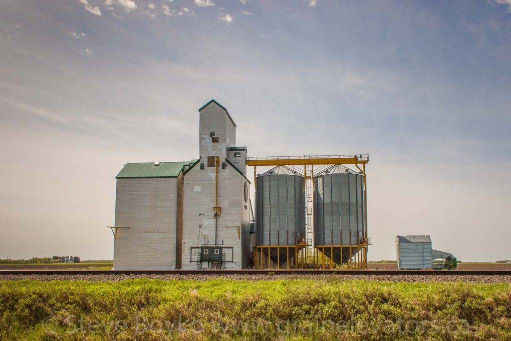 Gregg, MB grain elevator, May 2014. Contributed by Steve Boyko.
