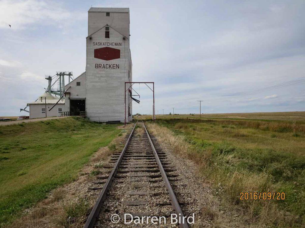Bracken, SK grain elevator. Contributed by Darren Bird.