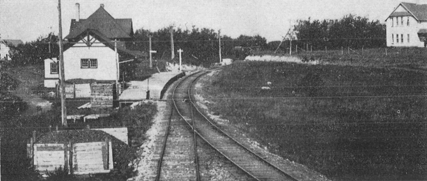 CNR train station, Russell, 1912