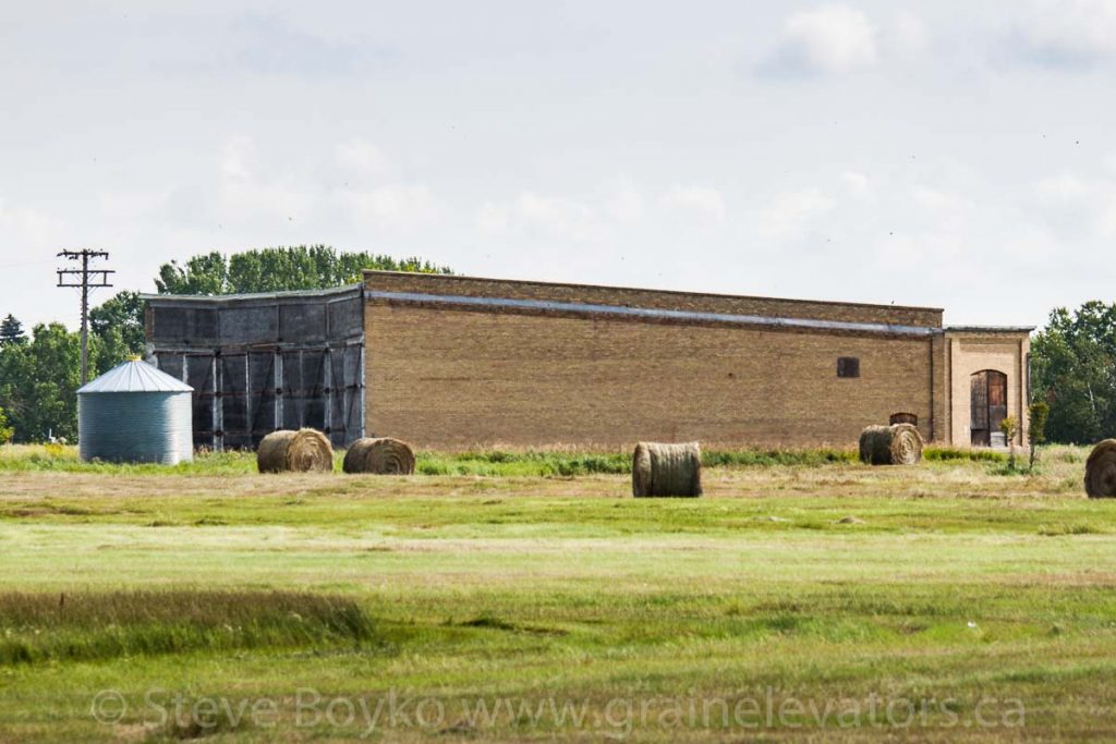 Railway roundhouse in Reston, MB, Aug 2014. Contributed by Steve Boyko.