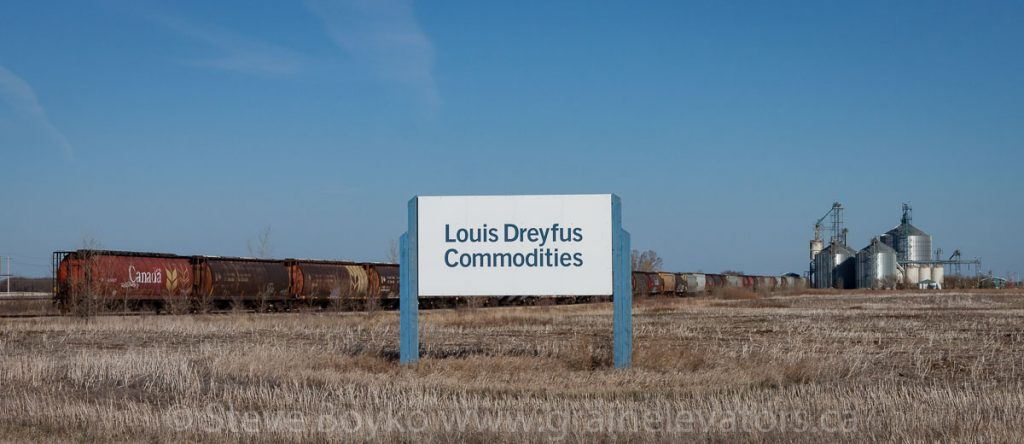 Louis Dreyfus facility near Virden, SK, Apr 2016. Contributed by Steve Boyko.