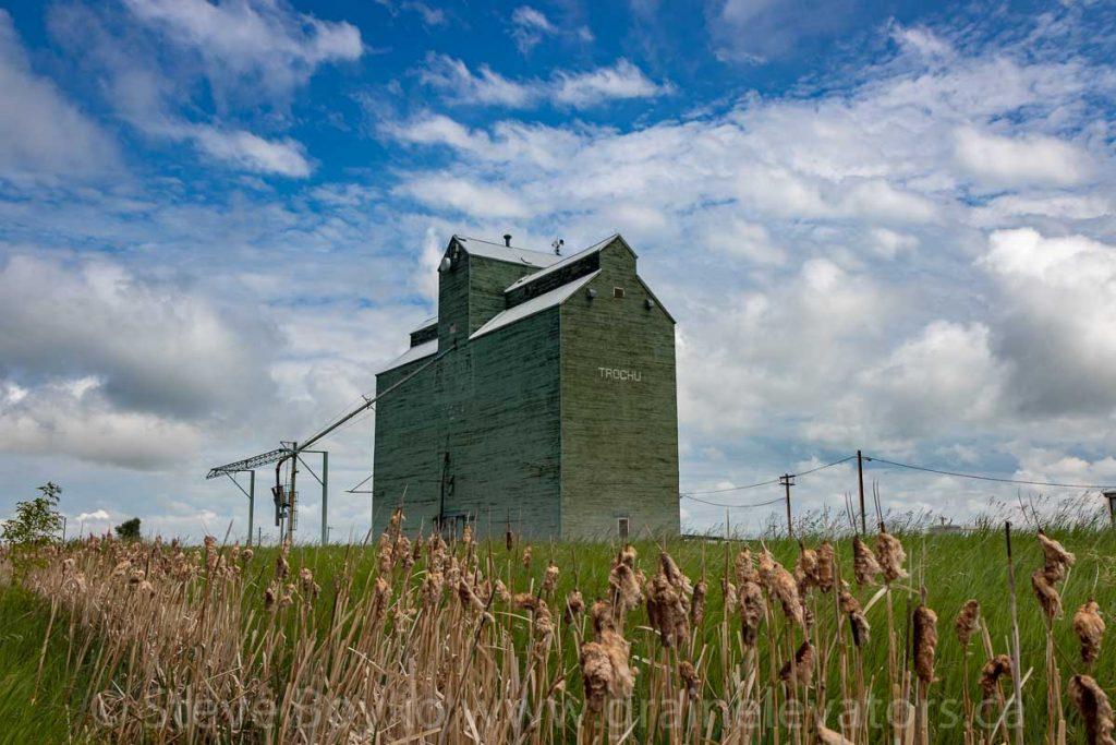 The Trochu, AB grain elevator, June 2018. Contributed by Steve Boyko.