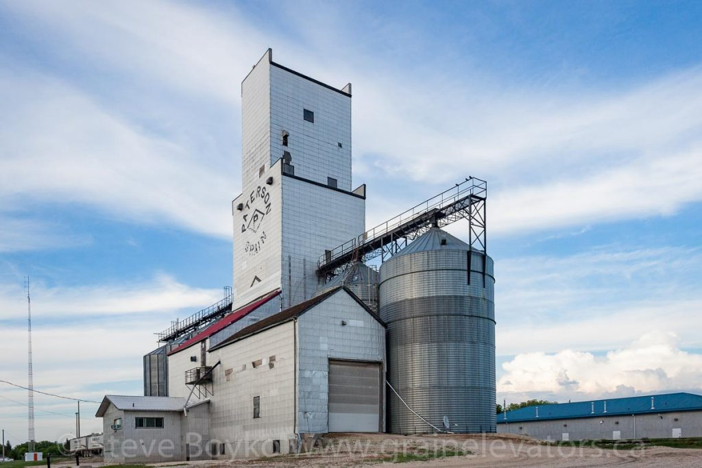 La Salle, MB grain elevator, June 2014. Contributed by Steve Boyko.