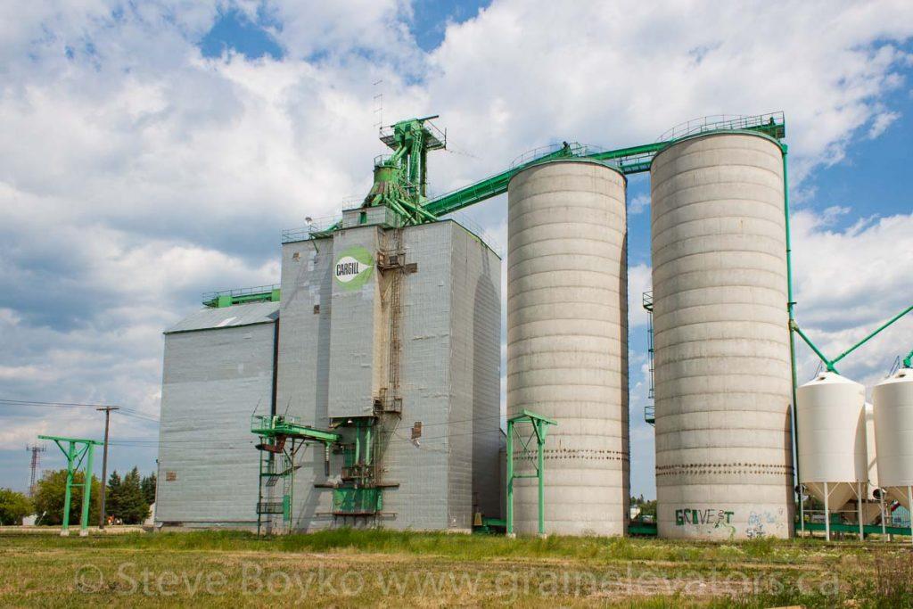 """Swan River """"B"""" grain elevator"""