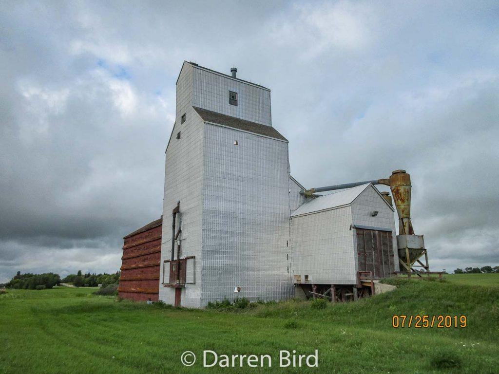 Sylvania, SK grain elevator, July 2019. Contributed by Darren Bird.