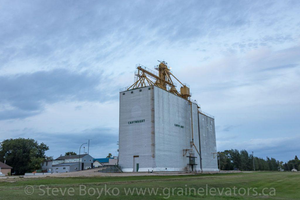 Cartwright, MB grain elevator